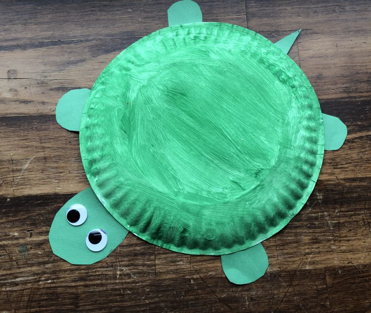 How to Make a Paper Plate Turtle: 10 Steps (with Pictures) | 620x735